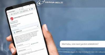 E-Devlet'e yeni uygulamalar eklendi