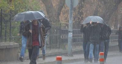 Şiddetli sağanak yağış uyarısı