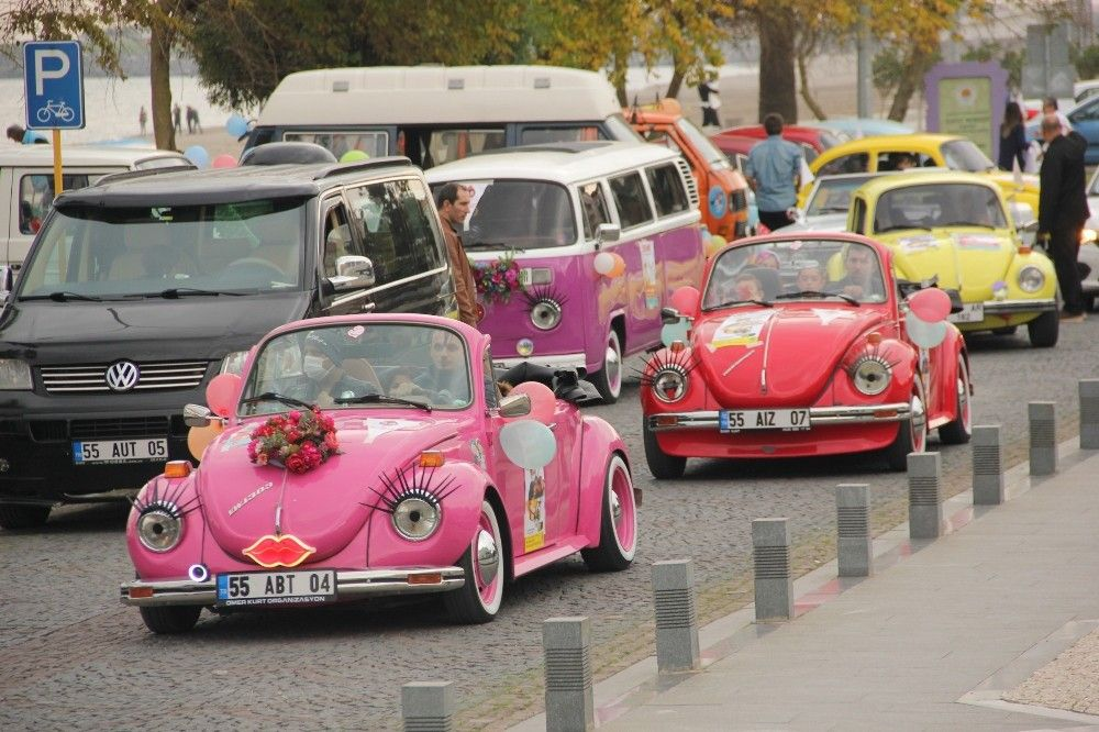 Lösemili çocuklara Woswoslu şehir turu