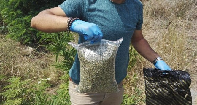 1 kilo uyuşturucuyla yakalandı