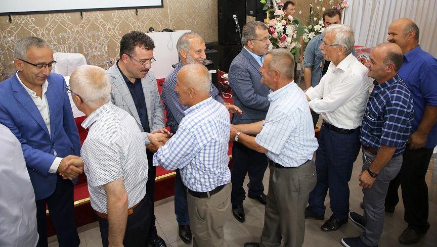Atakum'da bayramlaşma heyecanı
