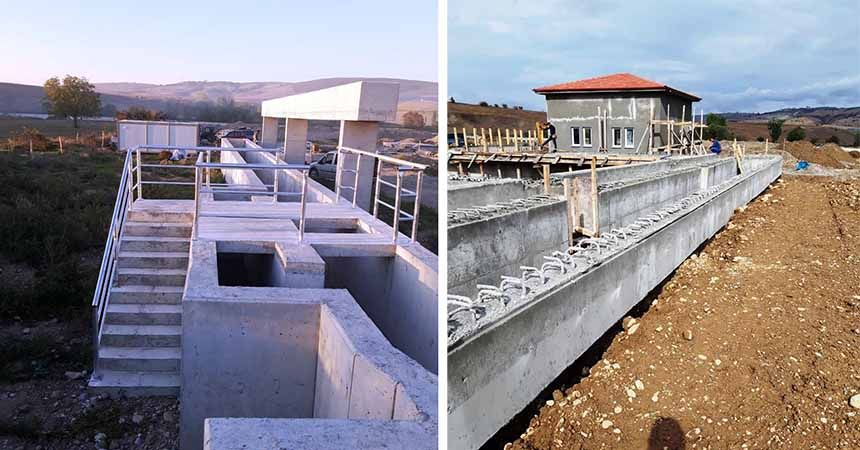Vezirköprü'ye içme suyu arıtma tesisi