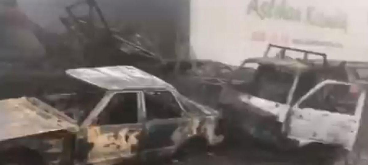 19 Mayıs Sanayi'de yangın