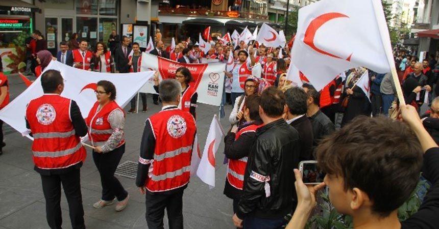 Türk Kızılayı'ndan 'Merhamet Yürüyüşü'