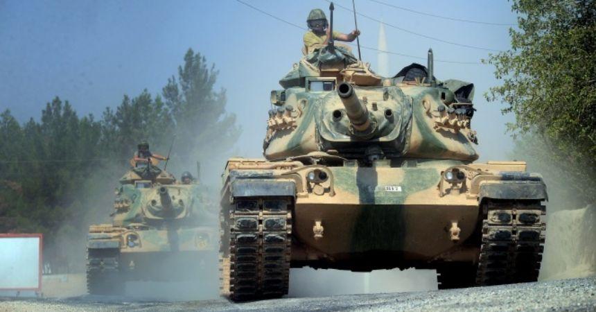 Fırat Kalkanı'nda iki askerimiz yaralandı