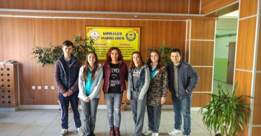 Köprülüler Anadolu Lisesi Romanya'ya gidiyor