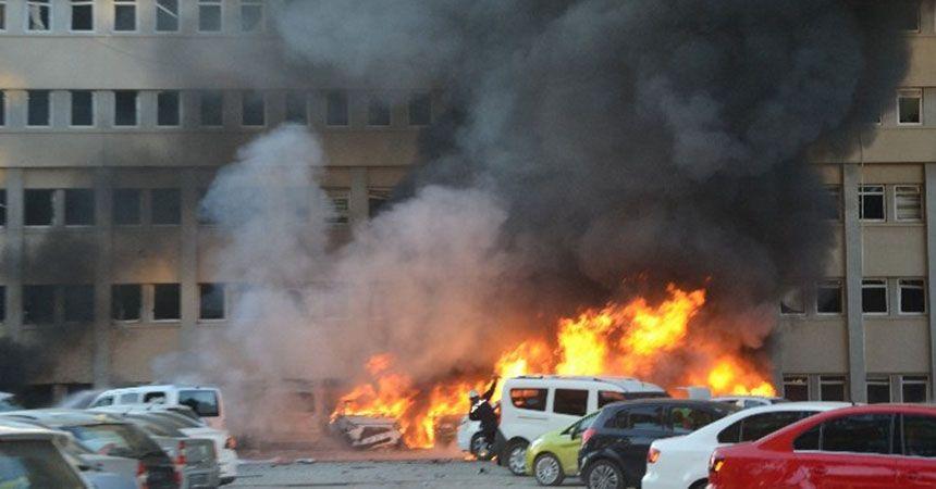 Adana Valiliği'ne hain saldırı: 2 ölü, 33 yaralı