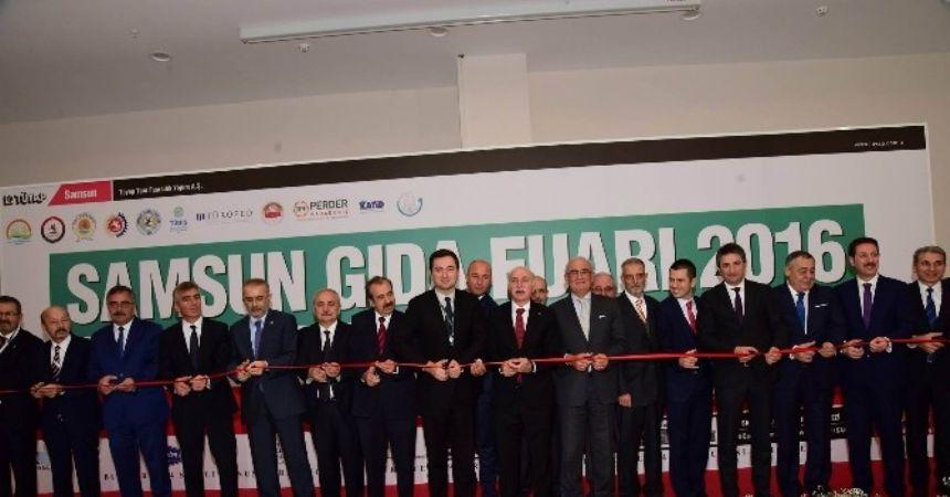 Samsun Gıda Fuarı 2016 açıldı