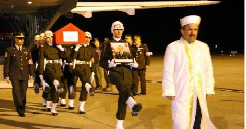 Şehit Astsubay'ın cenazesi Samsun'da