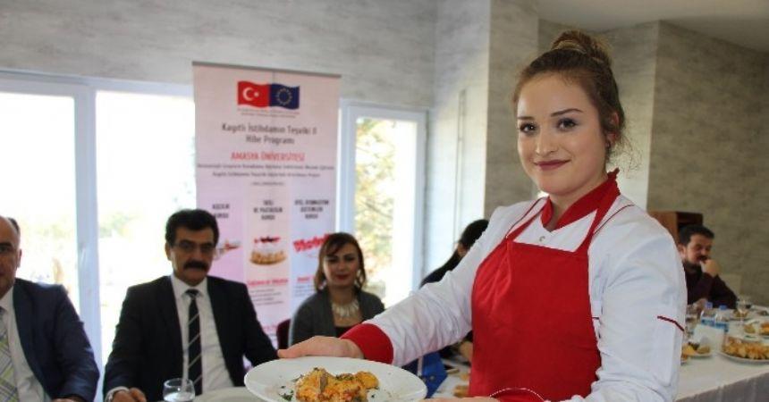 Kızların iş umudu 'Osmanlı mutfağı'