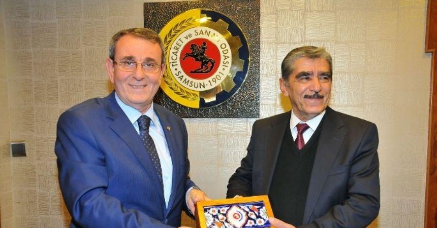 Samsun ile Tacikistan arasında ticari işbirliği artacak