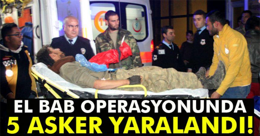 Yaralı askerler Kilis'e getiriliyor
