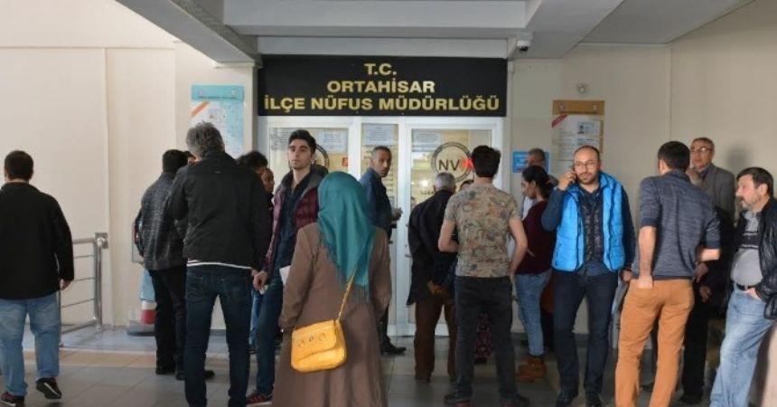 Trabzon'da çipli kimlik kartı sayısı 7 bin 500'ü buldu