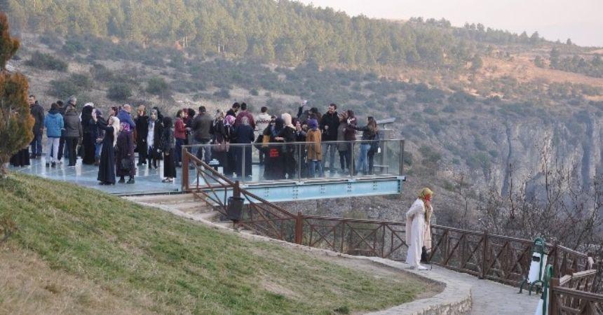 Sinoplu öğrenciler Safranbolu'yu gezdi