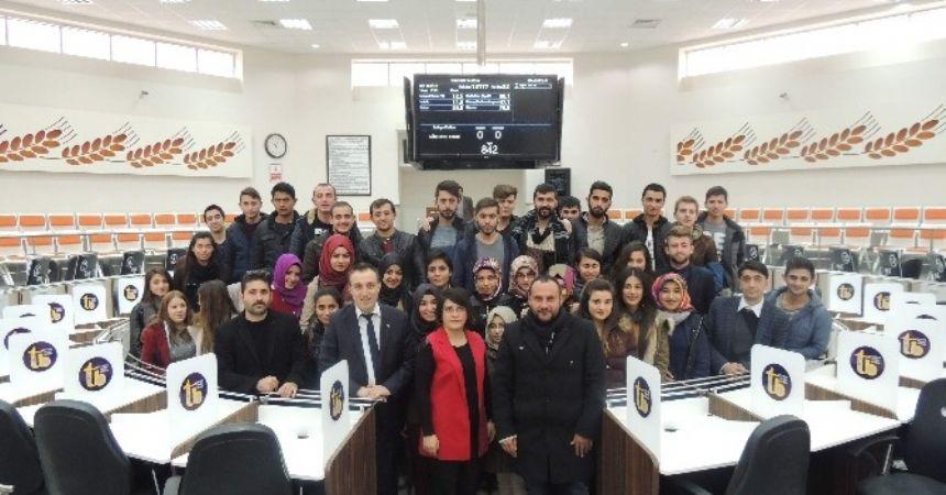 Öğrencilerden ÇTB'ye ziyaret