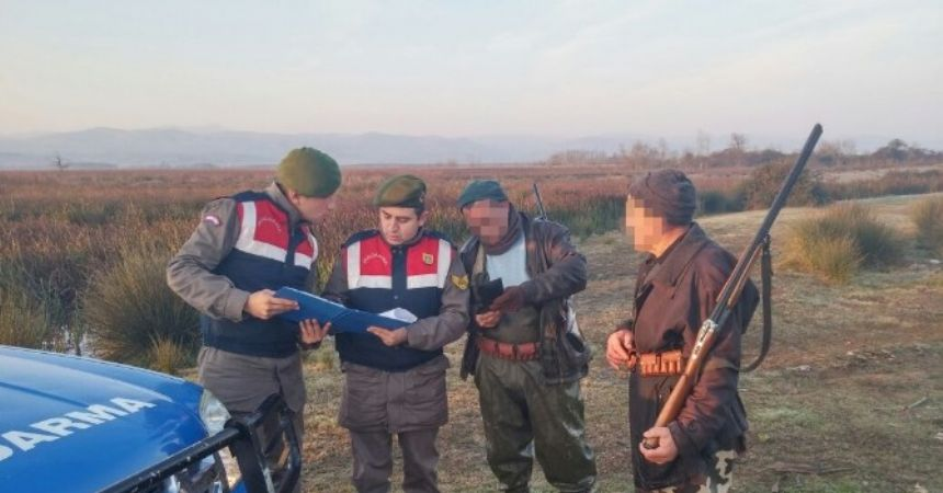 Kaçak avcılara operasyon