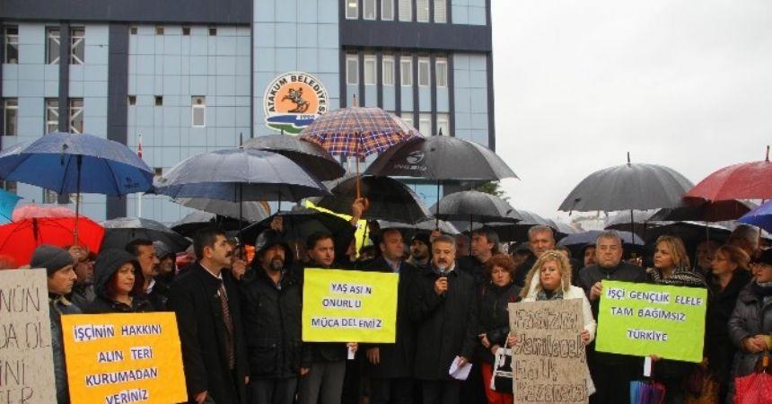KHK kararları protesto edildi