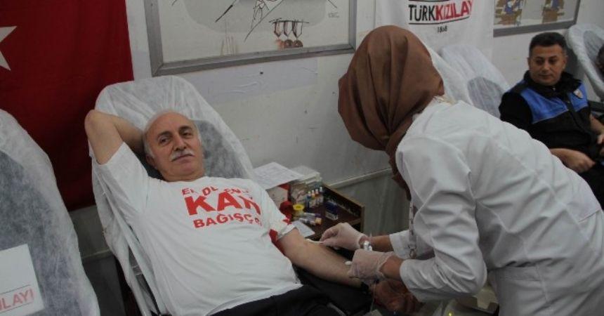 Samsun kan bağışlıyor