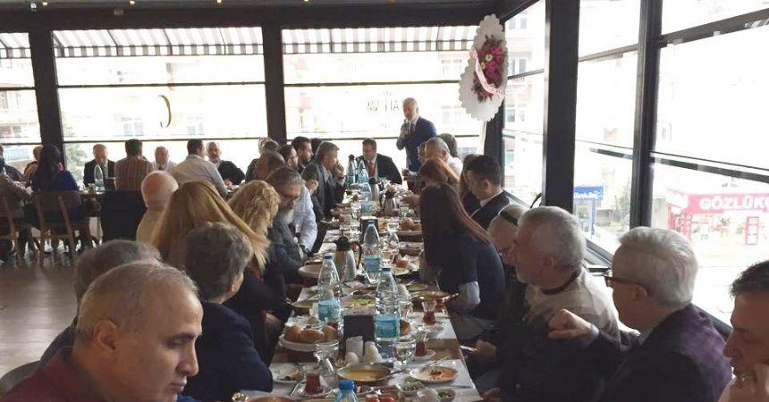 14 Mart TIP Bayramı'nı kahvaltı ile kutladılar