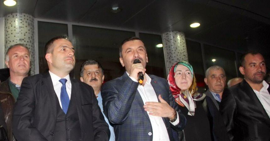 Başkan Sarıcaoğlu'ndan 'yüzde 70' teşekkürü