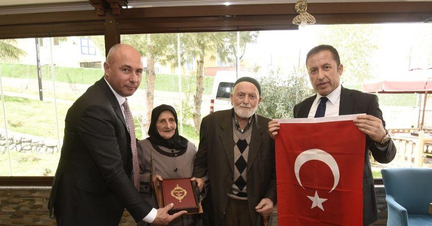 Tekkeköy Belediyesi şehit ailelerini ağırladı