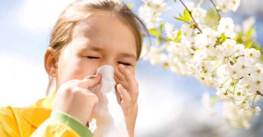 Çocuklarda bahar alerjisi uyarısı