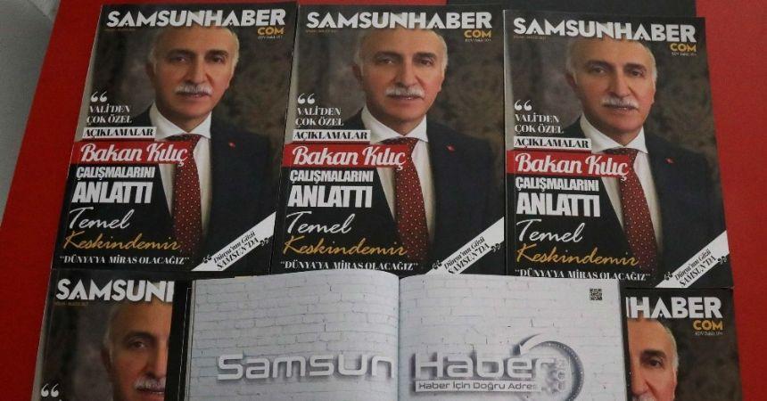 Samsun'da yeni bir dergi yayın hayatına başladı