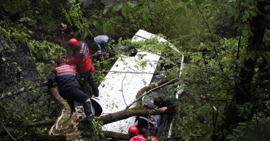 Zonguldak'ta facia 10 ölü