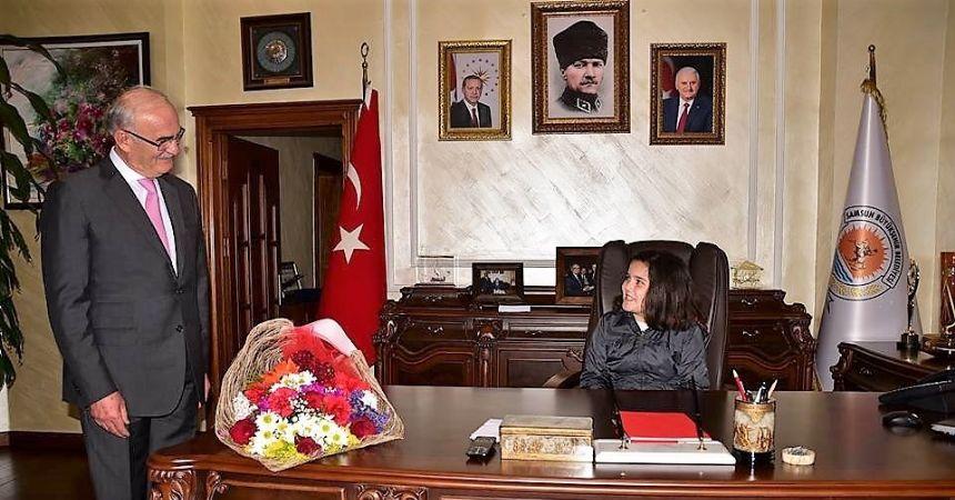 Başkan Yılmaz'ın 23 Nisan konukları