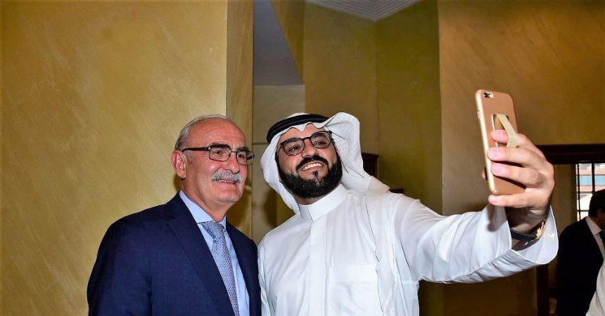 Başkan Yılmaz Arap iş adamlarını ağırladı
