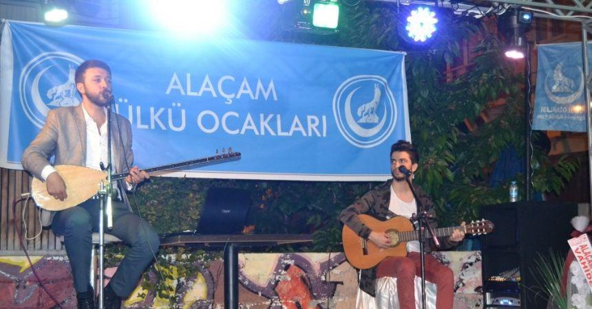 Alaçam'da ülkücü hareket konseri