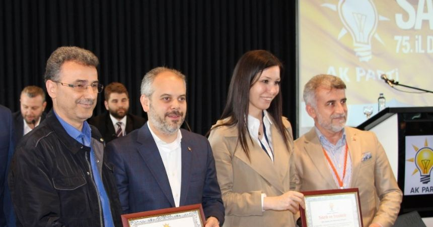 AK Parti Samsun Danışma Meclisi 75. kez toplandı