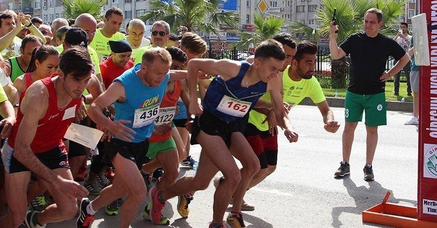 Giresun Aksu Yarı Maratonu koşuldu