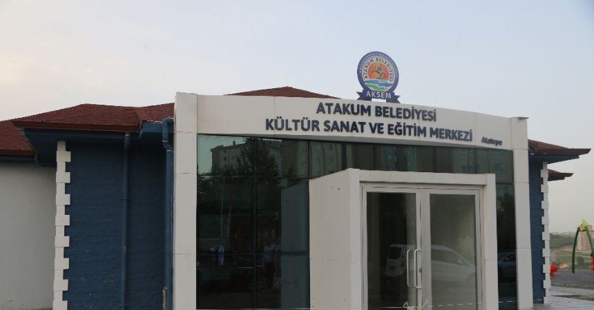 Atatepe Kültür Merkezi açılışa hazır