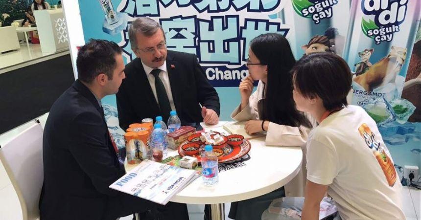 Çin'de ÇAYKUR'A büyük ilgi