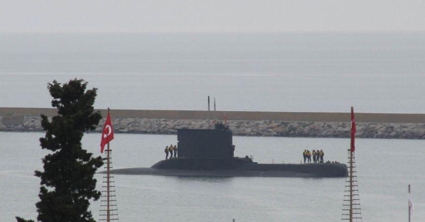 Yıldıray Denizaltısı Samsun'da