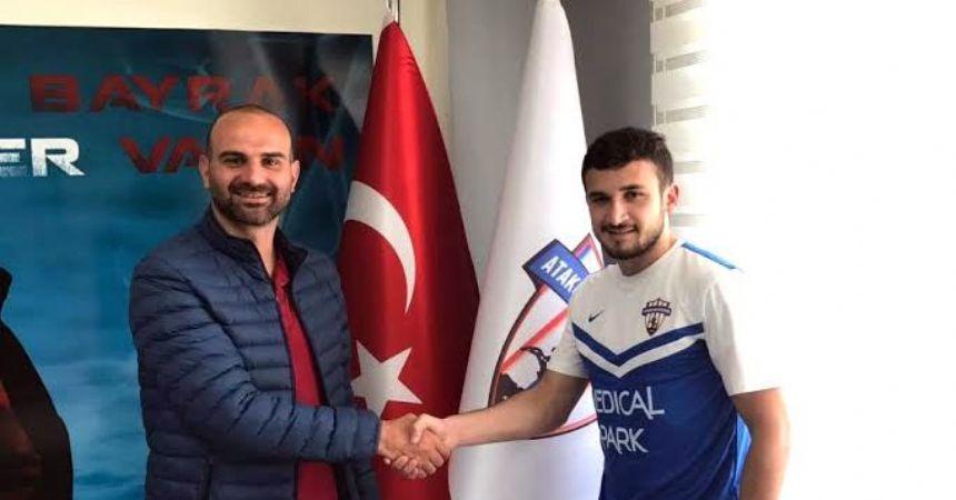 Atakum Belediyespor'a milli transfer