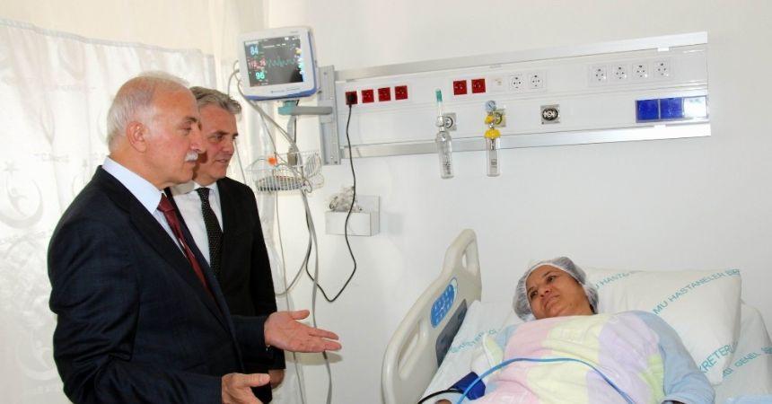 Eğitim Araştırma Hastanesi'ne yeni birimler katıldı