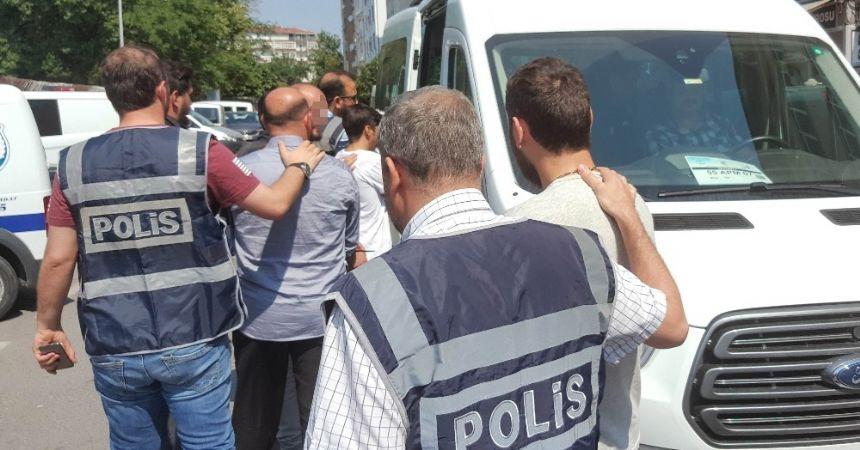 Önce serbest kaldılar, sonra tutuklandılar
