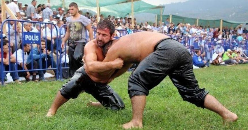 Tekkeköy yağlı güreşlere hazır