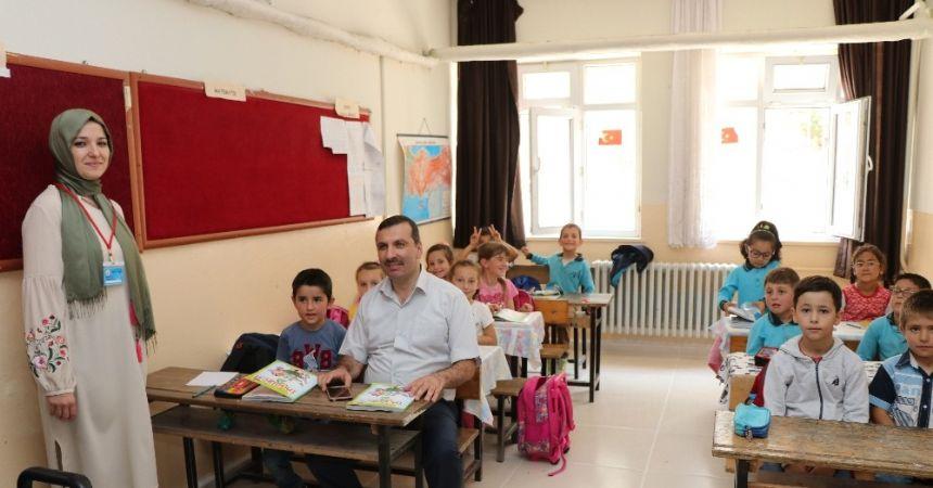 Sarıcaoğlu: Eğitime desteğimiz sürecek