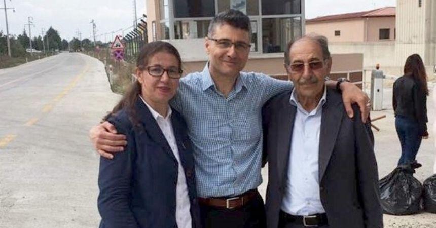 Vali Çetinkaya'nın albay eşi tahliye edildi