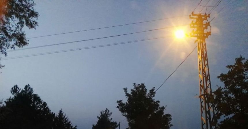 YEDAŞ kırsalı da aydınlatıyor
