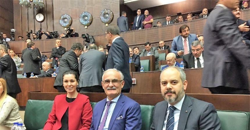 Başkan Yılmaz AK Parti Grubu'nda