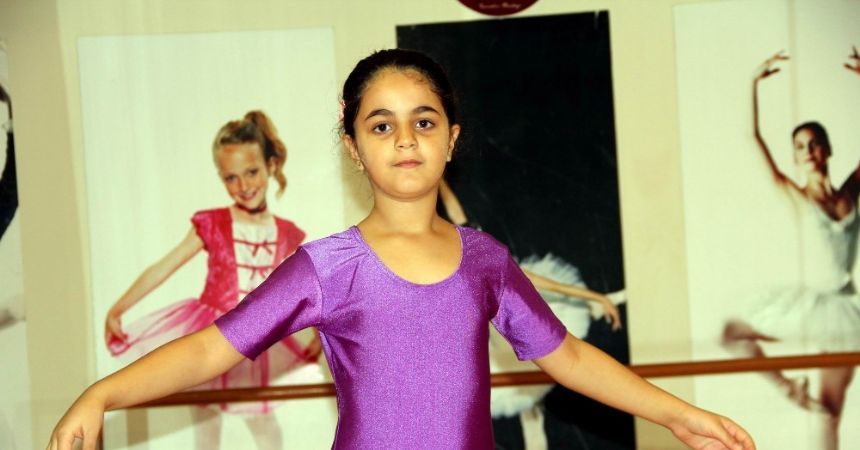 """Savaşın çocuğu """"Noor"""" hayaline kavuştu"""