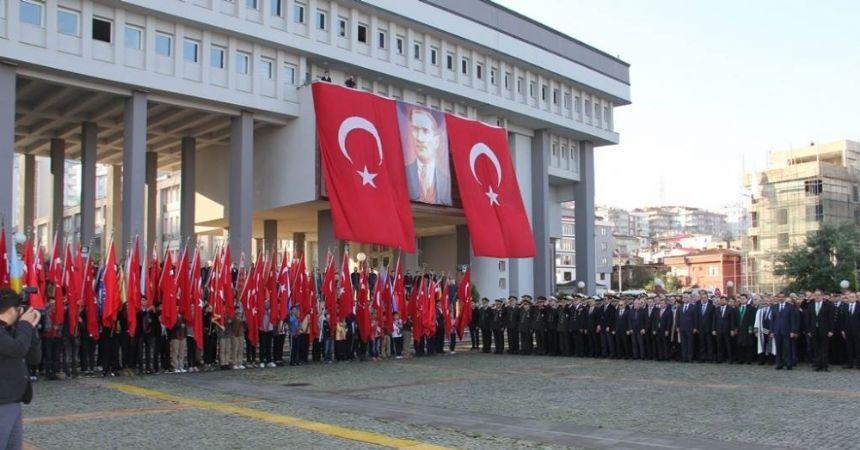 Giresun'da Atatürk'ü anma günü etkinlikleri
