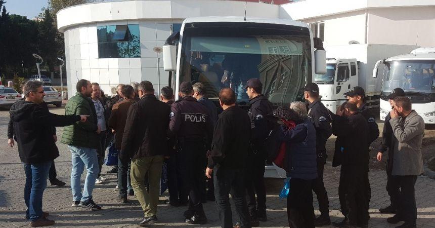 Sigara kaçakçıları tutuklandı