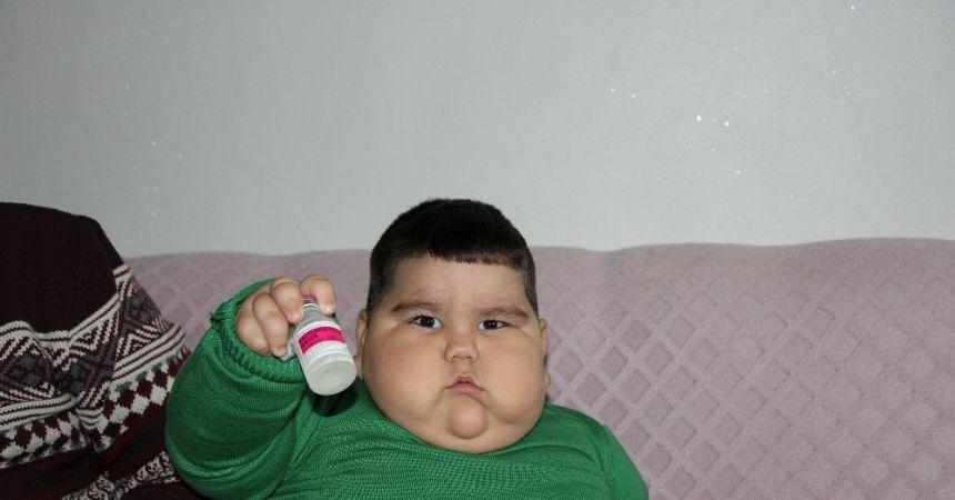 Yağız bebek ilacına kavuştu