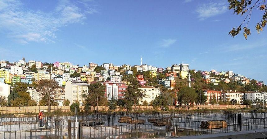 Samsun Müzesi inşaatı yükseliyor