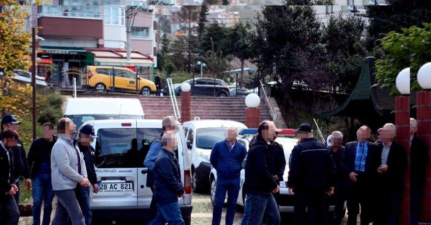 Giresun'da 4 FETÖ şüphelisi tutuklandı